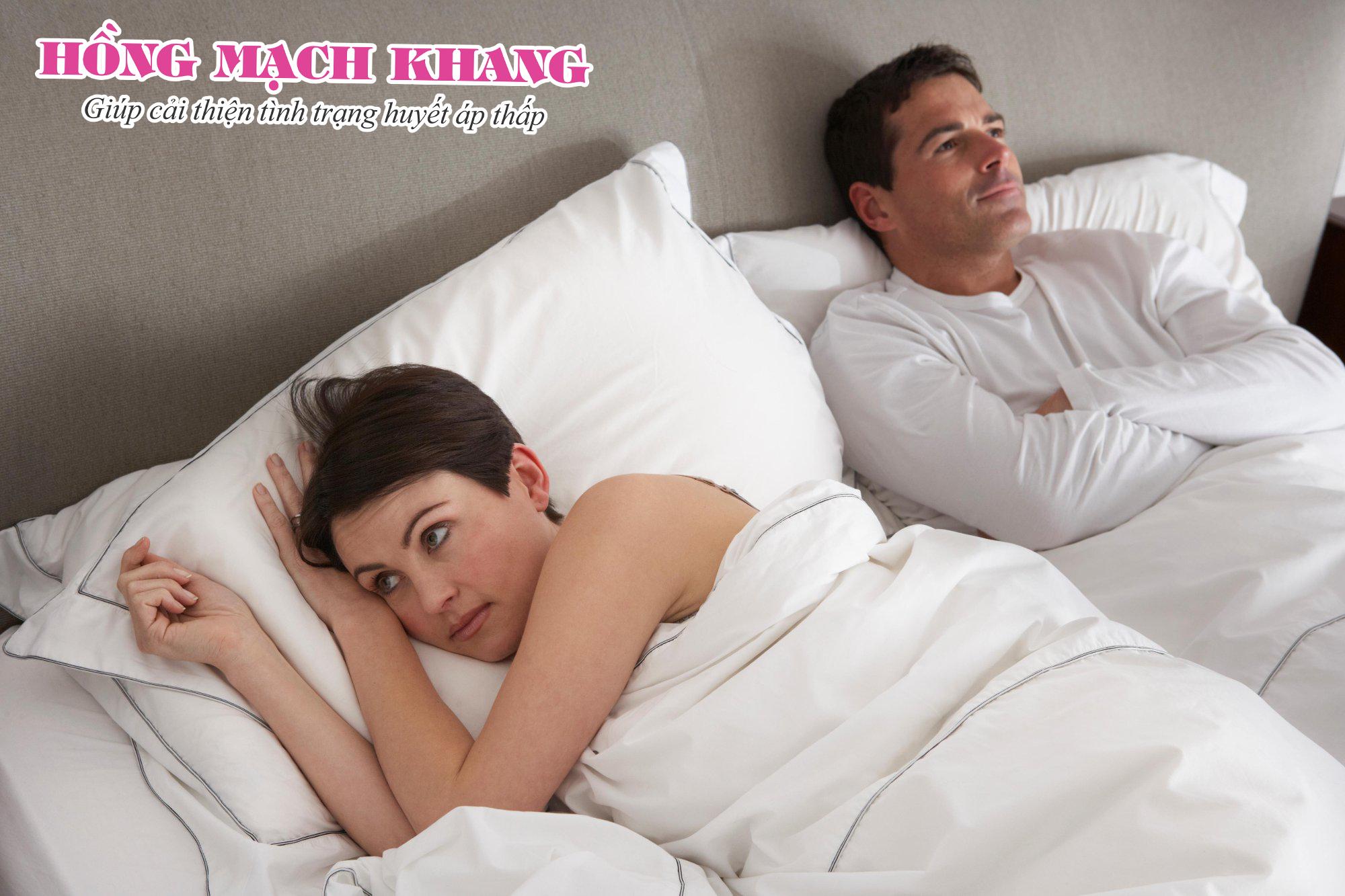 Huyết áp thấp gây suy giảm ham muốn tình dục ở cả nam và nữ